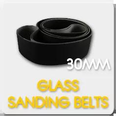 30mm Glass Sanding Belts